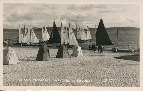 Praia de Interlagos - 1950