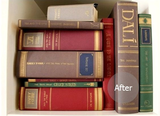 Construction Paper Book Cover : Make your own book covers to cover up ugly books use