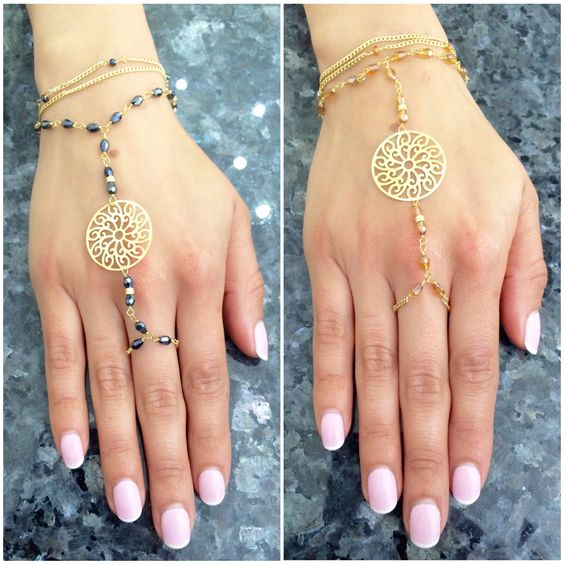 Hello #Summer ☀️☀️☀️! Enjoy the #gorgeous   #weather  with these #unbeatable #gold #filled #ring #bracelets  from #Brazil  #ringbracelets #goldilled #brazilianjewelry #brazilian #summer #beach