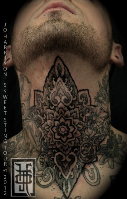 Probably one of the only neck tattoos I've thought looked really nice: