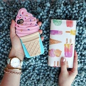 Darling kate spade ice cream iPhone case
