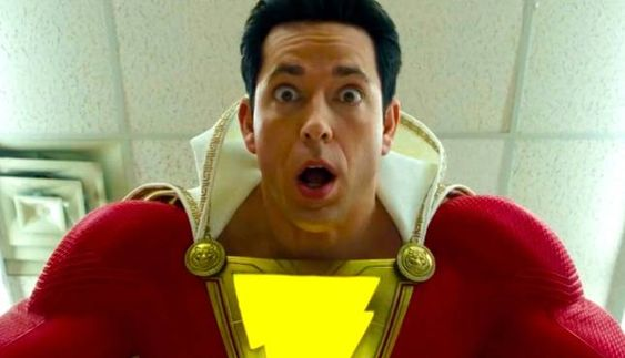 Shazam star Zachary Levi supports Captain Marvel
