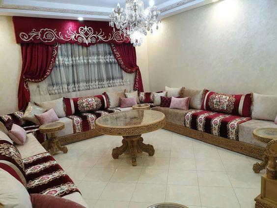 Salon Marocain 2021 Moroccan Living Room Decor Home Decor