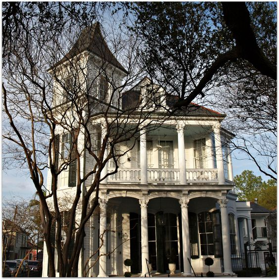 Bed and Breakfast on Esplanade Ave in New Orleans. 1884 it