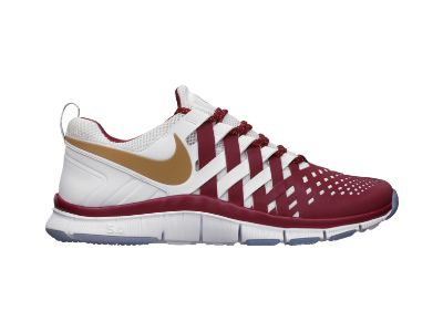 Nike Free Trainer Blue And White