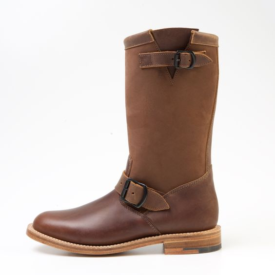 Women's Engineer Boots. Handcrafted in Northamptonshire in England by Windsor & Wales.