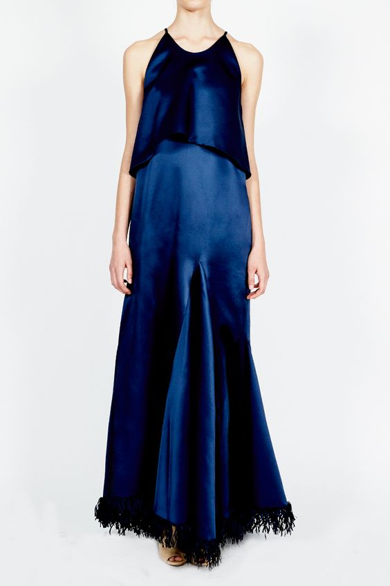 Ammonia halter neck dress