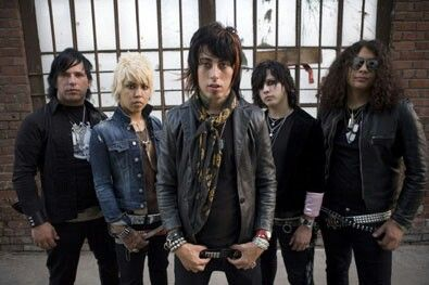 Original Escape the Fate with Ronnie Radke and Max Green