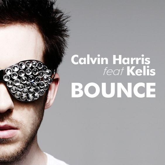 Calvin Harris, Kelis – Bounce (single cover art)