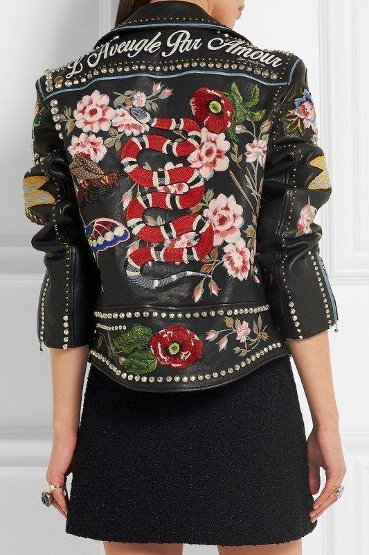 48 Super Lederjacken für Frauen | Mode, Modetrends und Mode