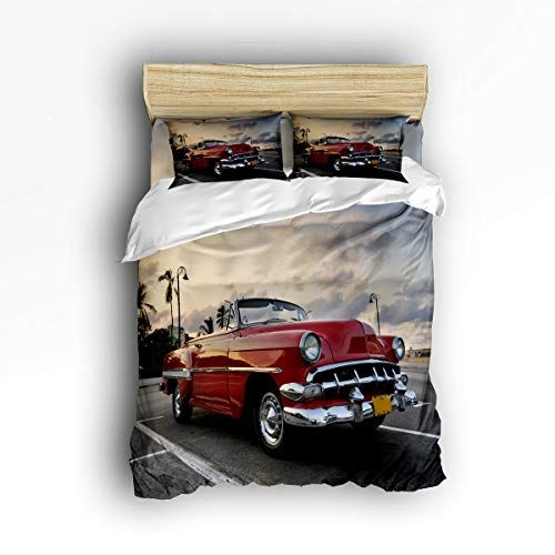 Duvet Cover Sets Bed Covers, Old Fashioned Car Bedding