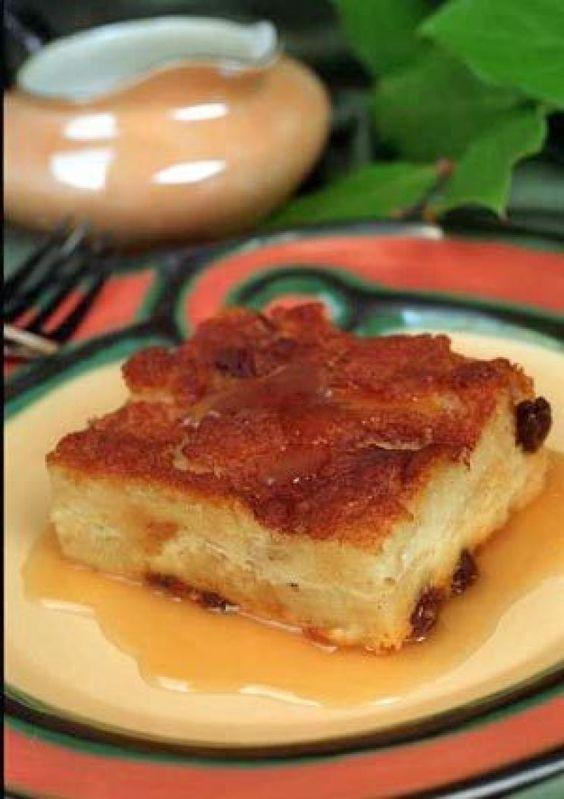 Recipe: Gilliland's Irish Bread Pudding with Caramel-Whiskey Sauce