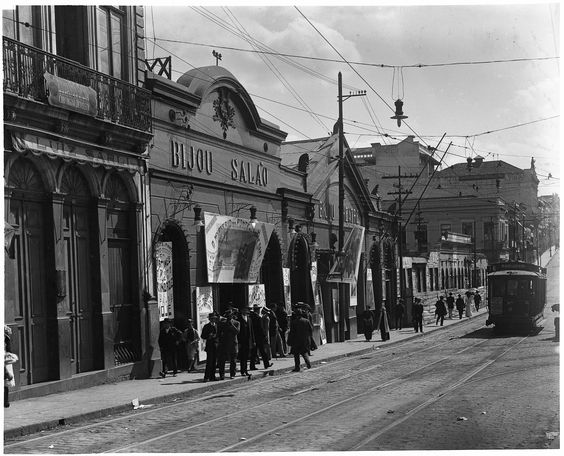 Rua de São João - Vale do Anhangabaú-c.1912