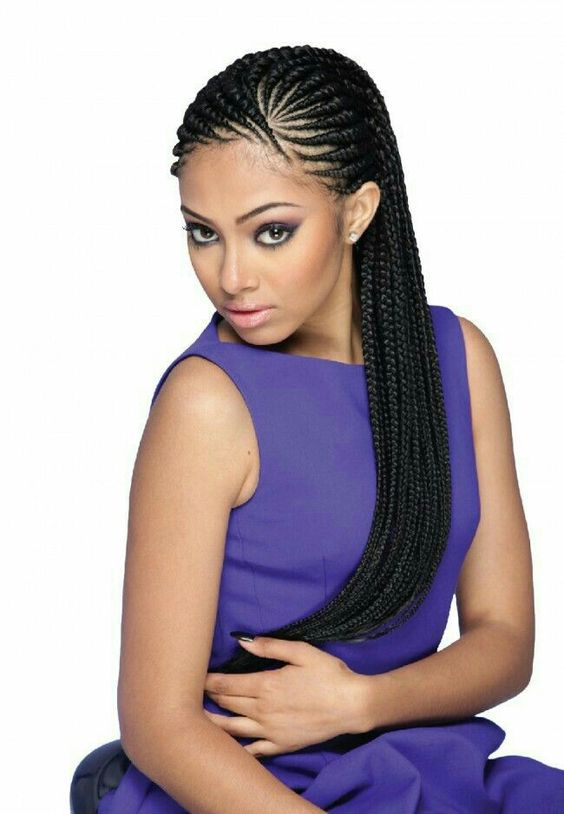 Pinterest le catalogue d 39 id es - Tresse africaine femme ...