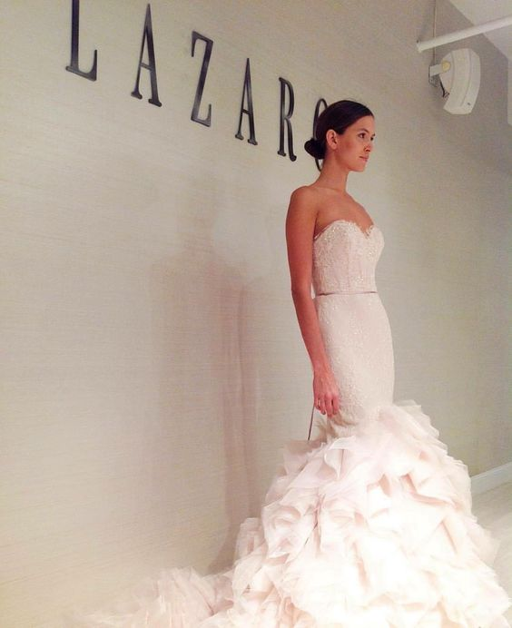 See this Instagram photo by @lazarobridal • 2,406 likes