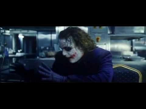 Joker's Pencil Trick Scene