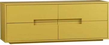 Latitude Grellow Low Dresser modern dressers chests and bedroom armoires