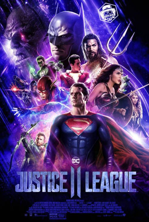 Justice League Ii Endgame Inspired Poster Bryan Fiallos Avengers Vs Justice League Justice League Comics Justice League 2