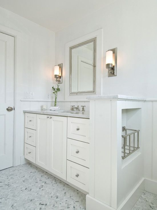 Suzie: Hampton Design - Gorgeous guest bathroom with ...