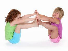 yoga poses for kids :-) great for use in school!