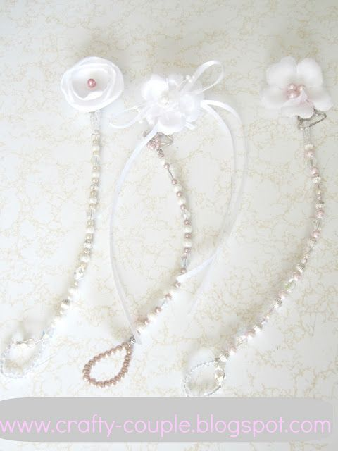Beaded pacifier clip tutorial... this one gives a list of items you need