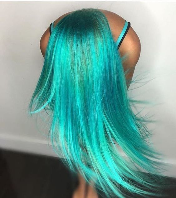 50 Pastel Hair Color Ideas 2019 If You Re Looking For Something Simple And Warm Look No Further Than These 50 Past Hair Styles Teal Hair Color Turquoise Hair