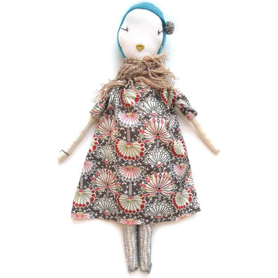Handmade rag doll from Jess Brown.