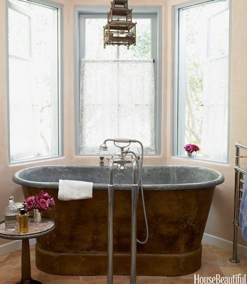 Designer Bathrooms and Pictures - Bathroom Decorating Ideas - House Beautiful