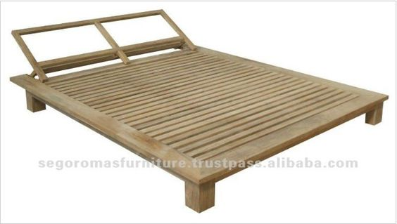 Natural Color Modern Outdoor Solid Teak Wood Day Bed, View adult day beds, Best Indo Teak Product Details from PT SEGORO MAS SOLO on Alibaba.com