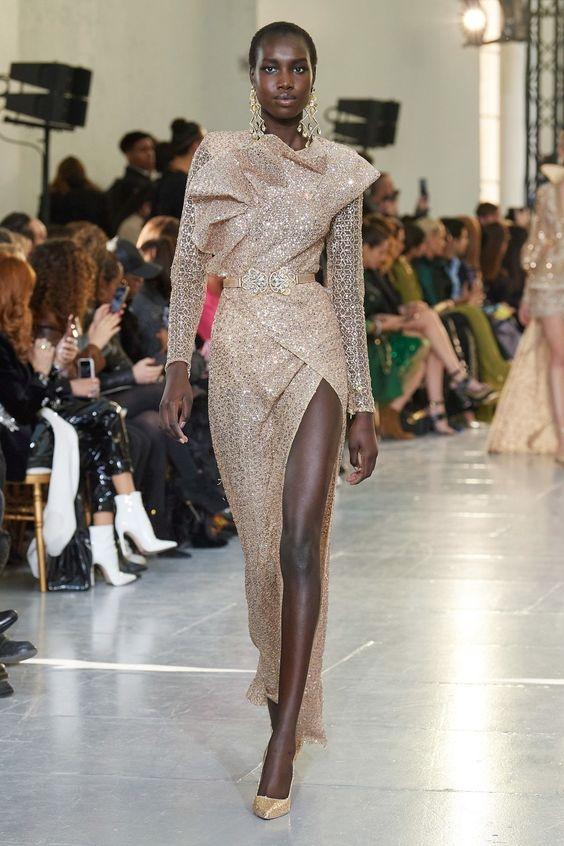 Elie Saab Haute Couture Printemps-Été 2020 - Défilé | Vogue Paris