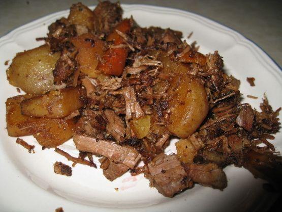 Roast beef hash, Beef hash and Roasts on Pinterest