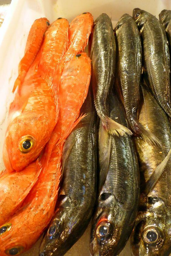 Portuguese fish market