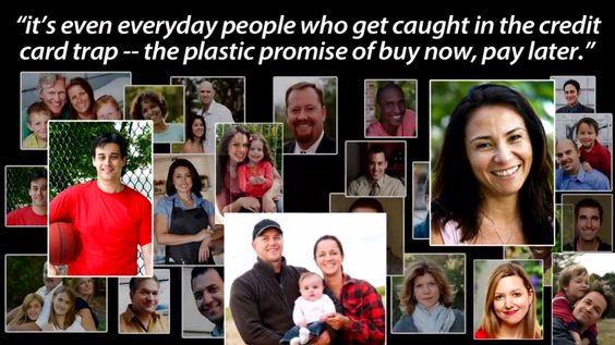 "The plastic promise of ""Buy now, Pay later."" http://www.youtube.com/watch?v=j8QzgtBdp6M"