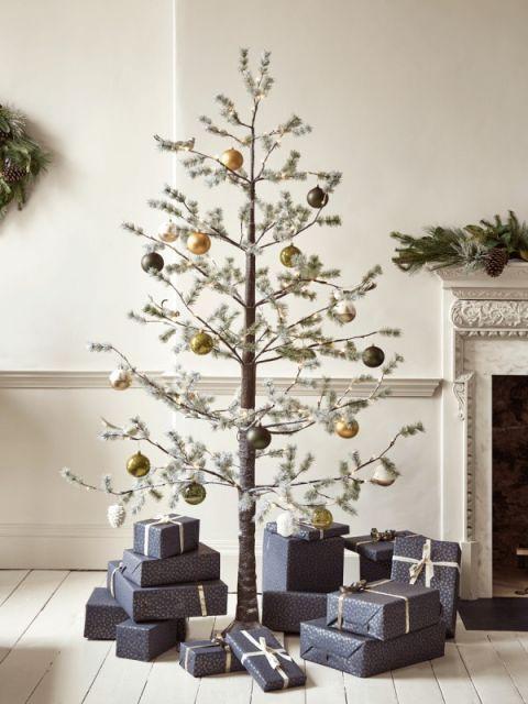 Arvore De Natal De Galho Seco 62 Ideias Inspiradoras Tutorial