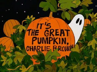 It's the Great Pumpkin, Charlie Brown - Peanuts Wiki
