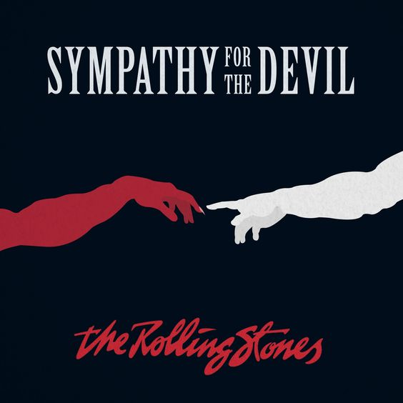The Rolling Stones – Sympathy for the Devil (single cover art)