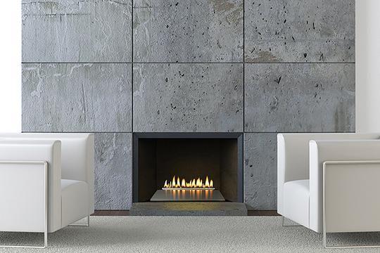 30 Loft Series Vent Free Burner Millivolt Modern Fireplace