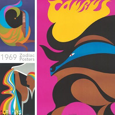 Zodiac Posters (1969)