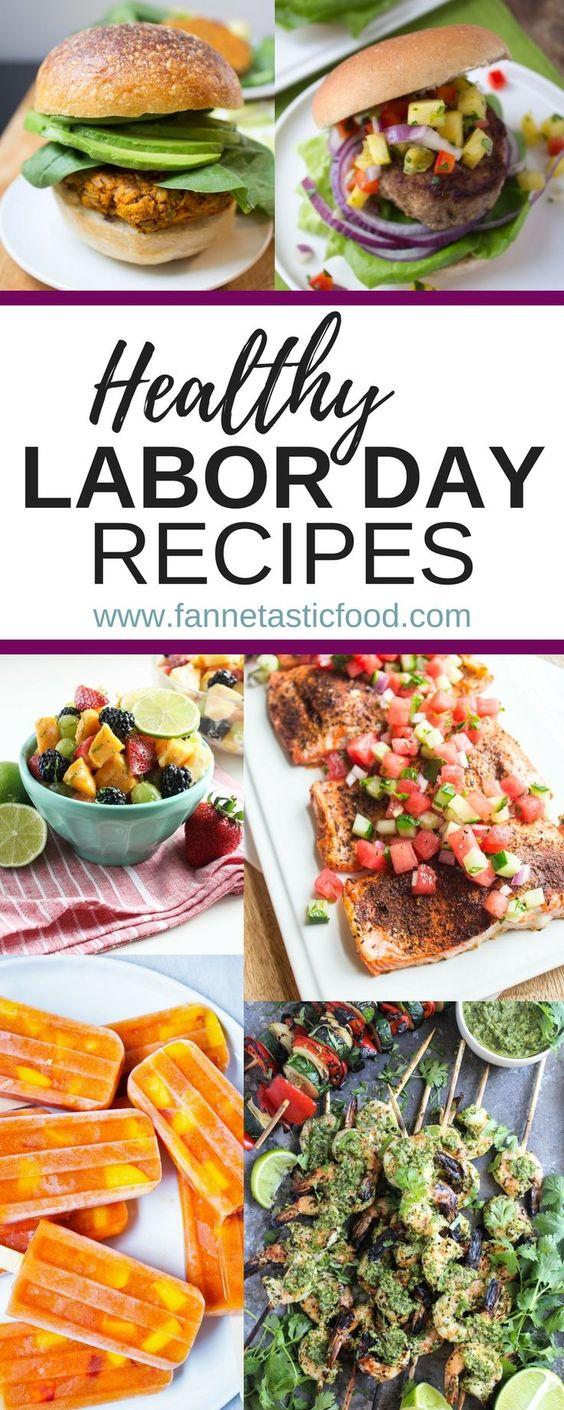 Healthy Labor Day Recipes - fANNEtastic food