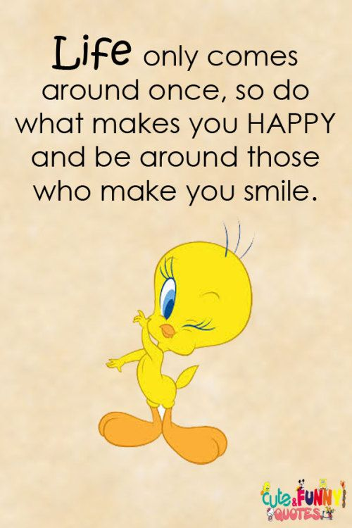 Cute And Funny Quotes Cute Good Morning Quotes Tweety Bird Quotes Cartoon Quotes