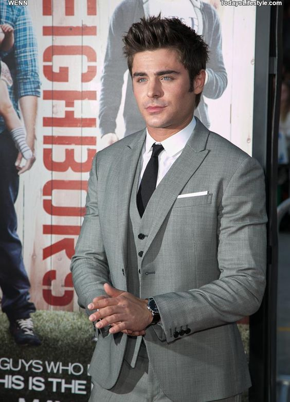 Love his suit!