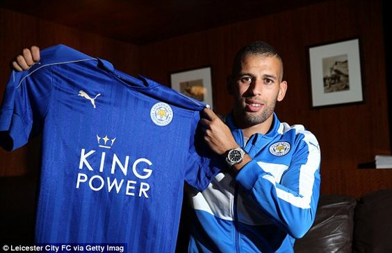 Leicester finalise record £29.7m fee for Sporting's Islam Slimani