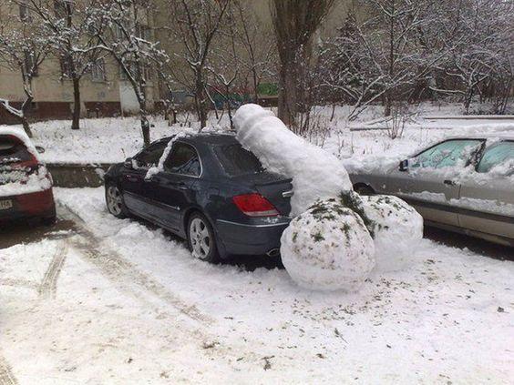 Bilderesultat for wtf snowmen