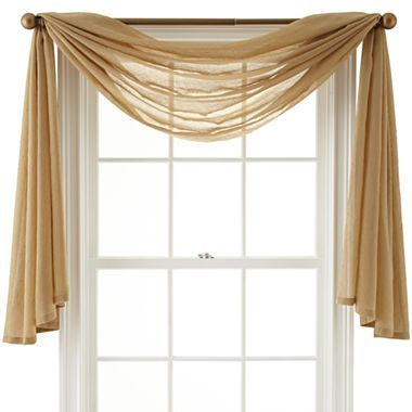 Scarf Valance For Living Room For The Home Pinterest