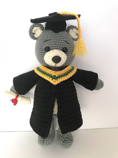 Ravelry: Teddy Bear pattern by Sharon Ojala | 640x480