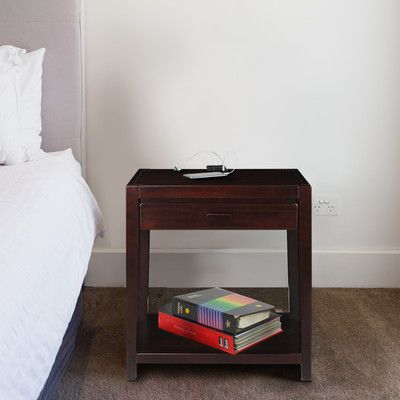 Casual Home 1 Drawer Nightstand