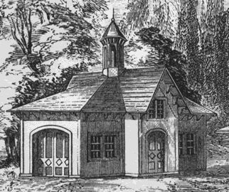 Southern carriage house 1852 in the italianate style for Historic carriage house plans