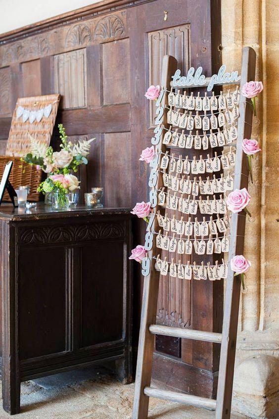 lovely idea Wedding Seating charts Pinterest