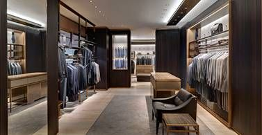 The new store concept of Park Associati for Brioni worldwide