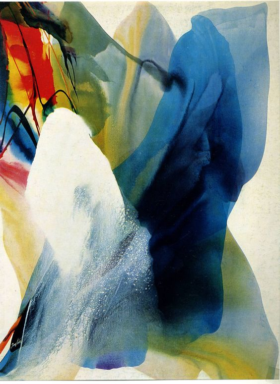 Paul Jenkins - Phenomena Graced by Three, 1968